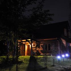 Dom Danielowo Nocą